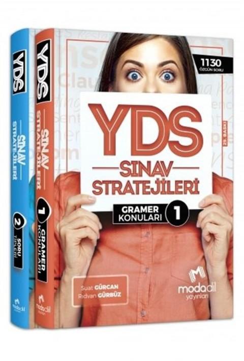 Modadil Yayınları YDS Sınav Stratejileri Konu Anlatımlı 1-2