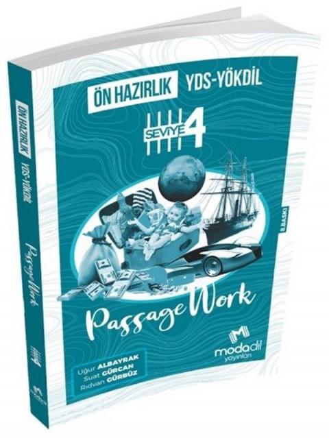 Modadil Yayınları YDS YÖKDİL Ön Hazırlık Passagework Seviye 4
