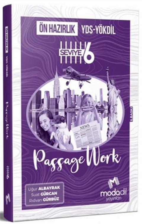 Modadil Yayınları YDS YÖKDİL Ön Hazırlık Passagework Seviye 6