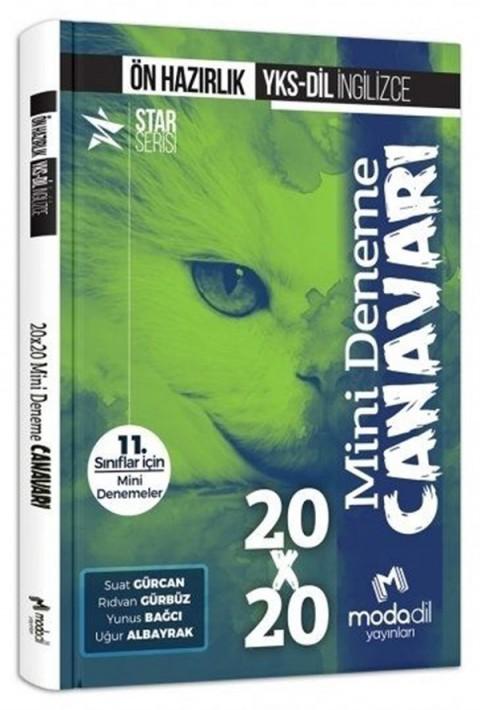 Modadil Yayınları YKS-DİL İngilizce Ön Hazırlık 20×20 Mini Deneme Canavarı