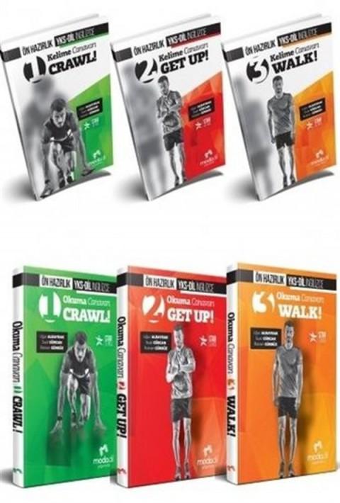 Modadil Yayınları YKS DİL İngilizce Ön Hazırlık Set 1 (Kelime Canavarı 1,2,3 + Okuma Canavarı 1,2,3)