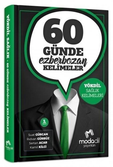 Modadil Yayınları YÖKDİL Sağlık 60 Günde Ezber Bozan Kelimeler
