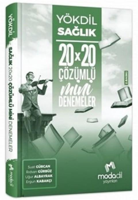 Modadil Yayınları YÖKDİL Sağlık Bilimleri 20×20 Mini Denemeler