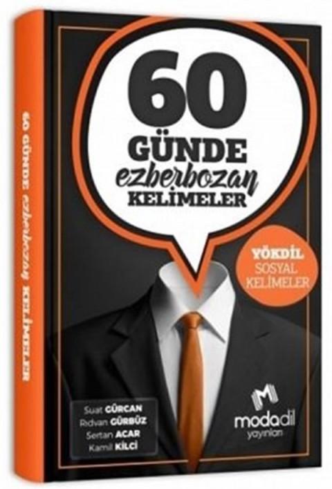 Modadil Yayınları YÖKDİL Sosyal 60 Günde Ezber Bozan Kelimeler