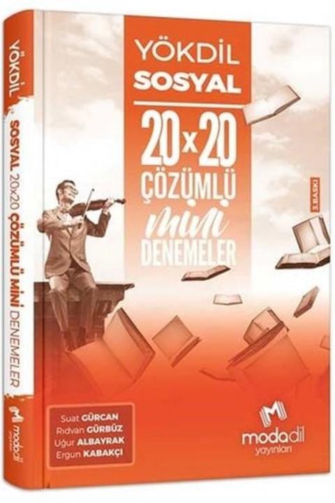 Modadil Yayınları YÖKDİL Sosyal Bilimler 20×20 Mini Denemeler