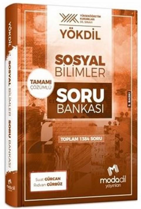 Modadil Yayınları YÖKDİL Sosyal Bilimler Tamamı Çözümlü Soru Bankası