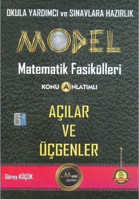 Model Yayınları Model Matematik Fasikülleri Açılar ve Üçgenler Konu Anlatımlı