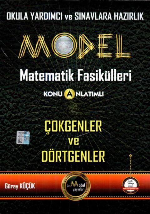 Model Yayınları Model Matematik Fasikülleri Çokgenler ve Dörtgenler