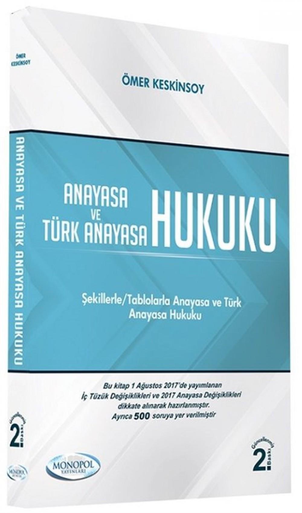 Monopol Yayınları KPSS A Grubu Anayasa ve Türk Anayasa Hukuku