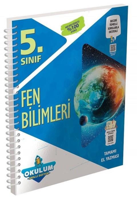 Murat Yayınları 5. Sınıf Fen Bilimleri Okulum Akıllı Defter