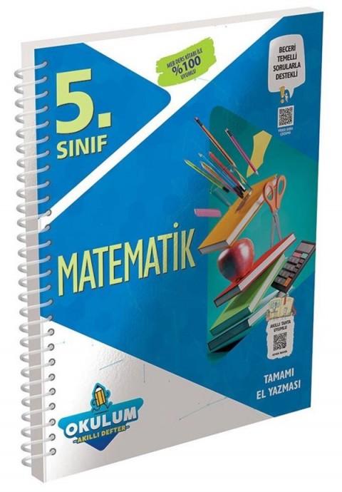 Murat Yayınları 5. Sınıf Matematik Okulum Akıllı Defter