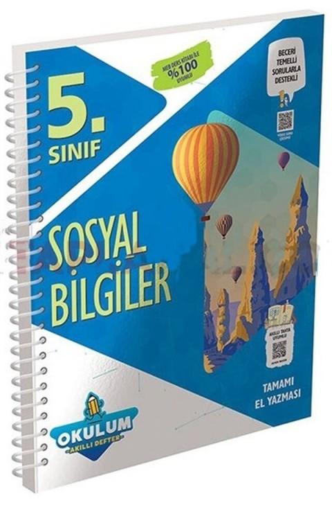 Murat Yayınları 5. Sınıf Sosyal Bilgiler Okulum Akıllı Defter