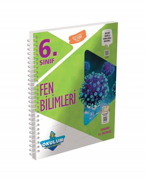 Murat Yayınları 6. Sınıf Fen Bilimleri Okulum Akıllı Defter
