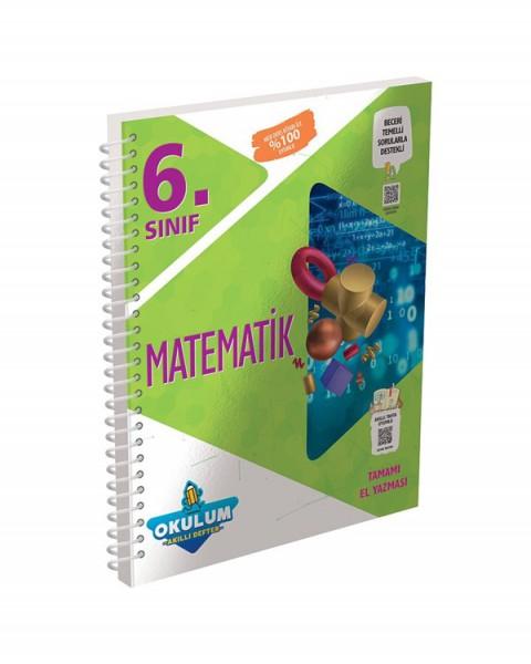 Murat Yayınları 6. Sınıf Matematik Okulum Akıllı Defter