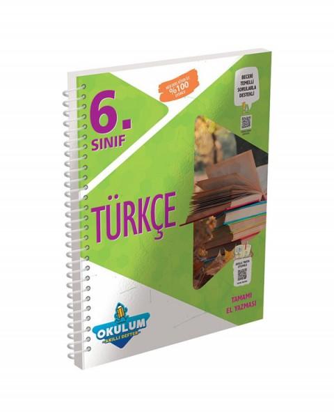 Murat Yayınları 6. Sınıf Türkçe Okulum Akıllı Defter