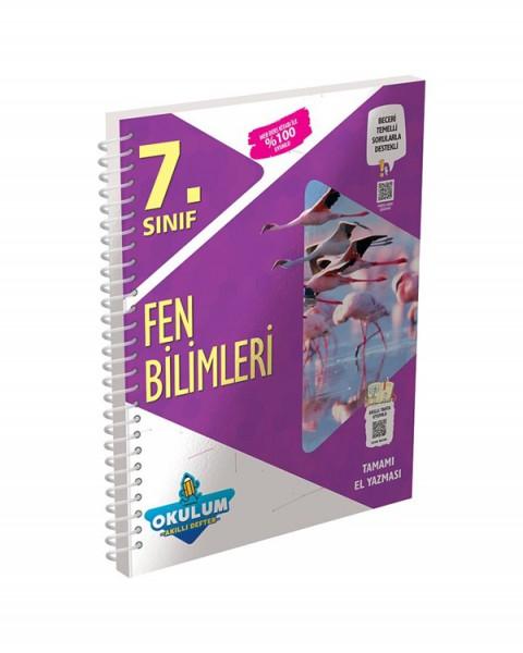 Murat Yayınları 7. Sınıf Fen Bilimleri Okulum Akıllı Defter