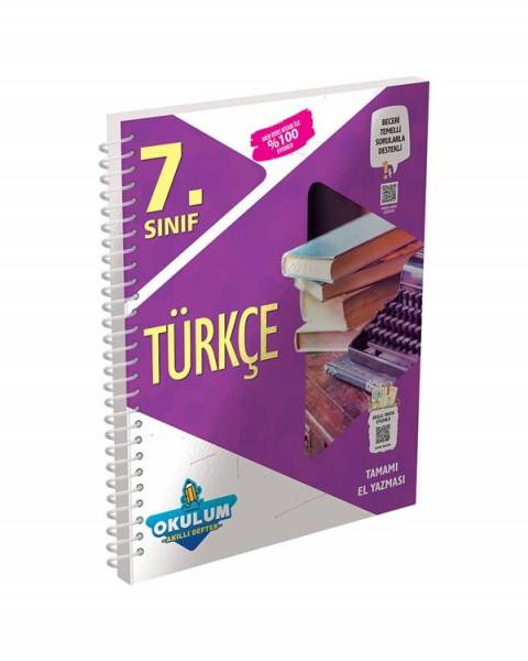 Murat Yayınları 7. Sınıf Türkçe Okulum Akıllı Defter