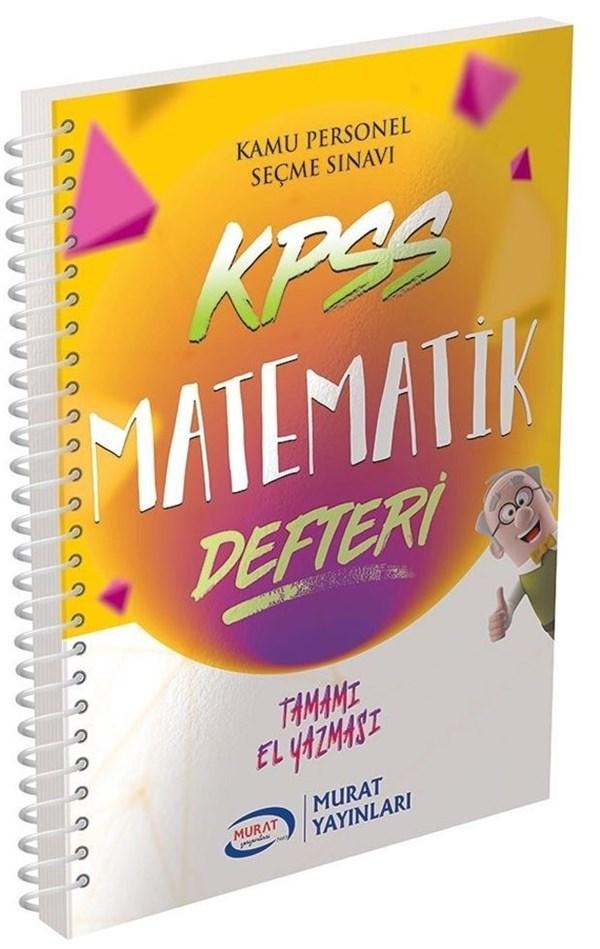 Murat Yayınları KPSS Matematik Defteri