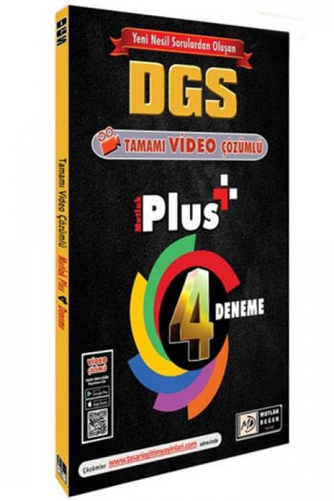 Mutlak Değer Yayınları DGS Mutlak Plus Video Çözümlü 4 Deneme