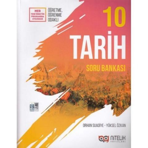 Nitelik Yayınları 10. Sınıf Tarih Soru Bankası