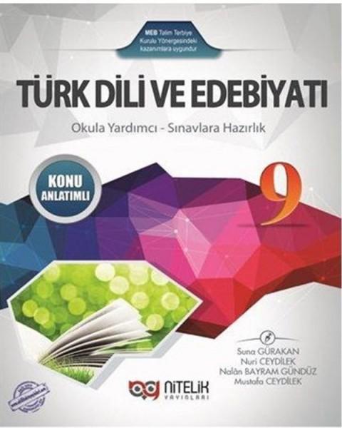 Nitelik Yayınları 9. Sınıf Türk Dili ve Edebiyatı Konu Anlatımlı