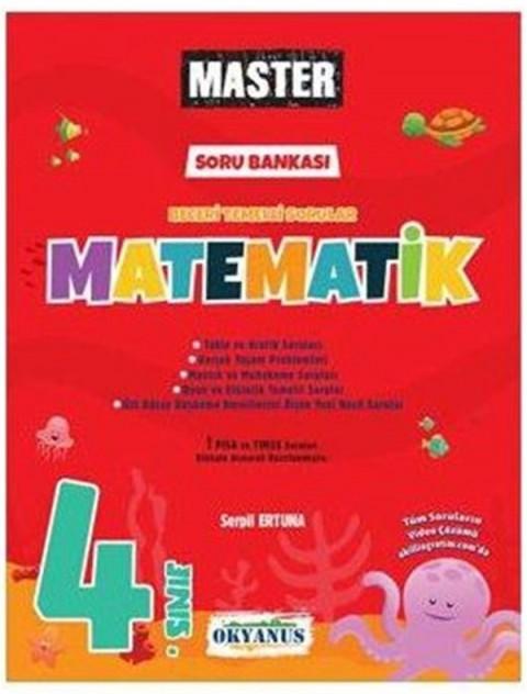 Okyanus Yayınları 4. Sınıf Master Matematik Soru Bankası