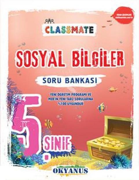 Okyanus Yayınları 5. Sınıf Classmate Sosyal Bilgiler Soru Bankası