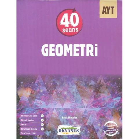Okyanus Yayınları AYT 40 Seans Geometri Soru Bankası
