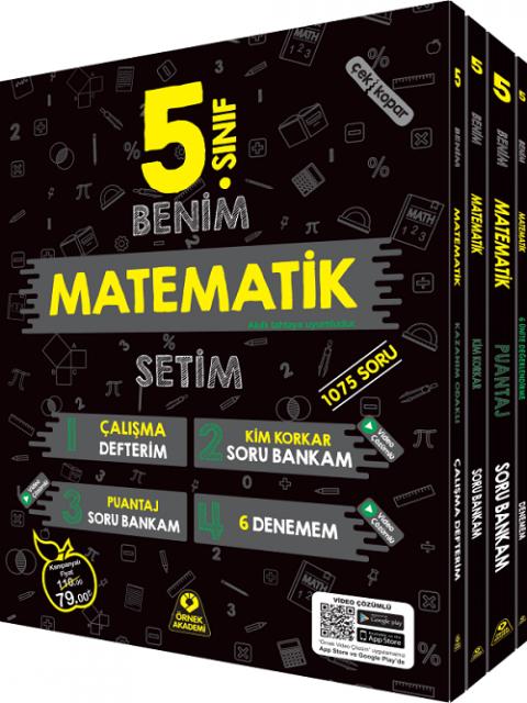 Örnek Akademi Yayınları 5. Sınıf Benim Matematik Setim