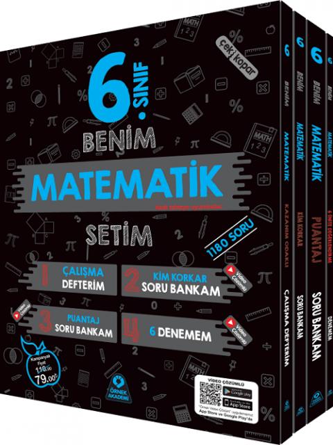 Örnek Akademi Yayınları 6. Sınıf Benim Matematik Setim