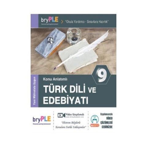 PLE 9. Sınıf Türk Dili ve Edebiyatı Konu Anlatımlı Birey Yayınları