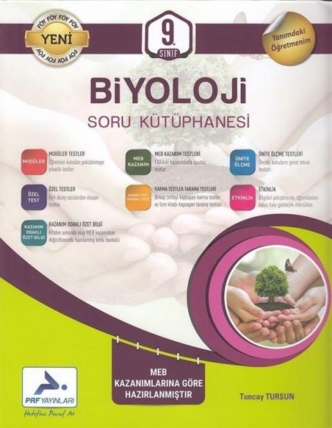 PRF Yayınları 9. Sınıf Biyoloji Soru Kütüphanesi
