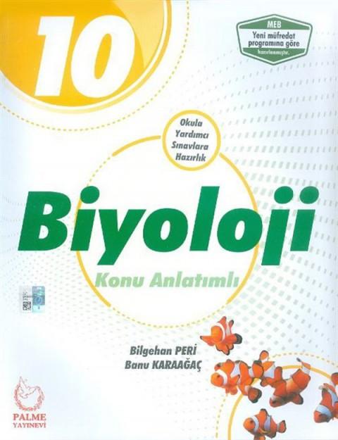 Palme Yayınları 10. Sınıf Biyoloji Konu Anlatımlı