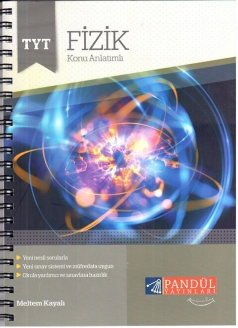 Pandül Yayınları TYT Fizik Defteri
