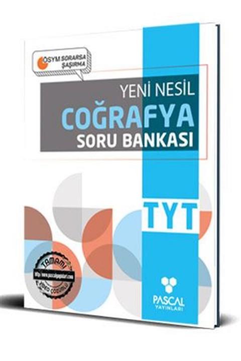 Pascal TYT Coğrafya Soru Bankası Pascal Yayınları