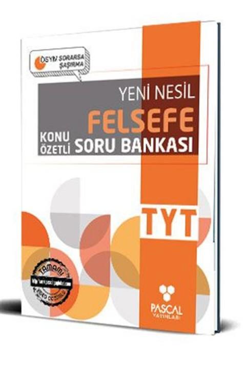Pascal TYT Felsefe Soru Bankası Pascal Yayınları