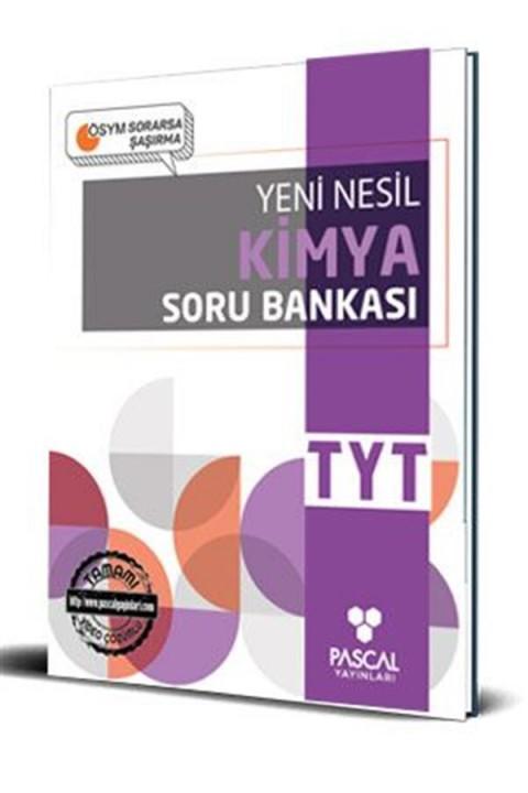 Pascal TYT Kimya Soru Bankası Pascal Yayınları