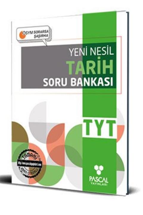 Pascal TYT Tarih Soru Bankası Pascal Yayınları