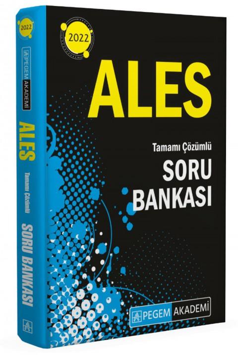 Pegem Akademi Yayınları  2022 ALES Tüm Adaylar Soru Bankası Çözümlü