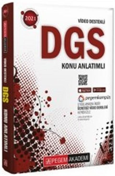 Pegem Yayınları 2021 DGS Video Destekli Konu Anlatımı