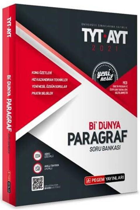 Pegem Yayınları TYT AYT Bi Dünya Paragraf Soru Bankası