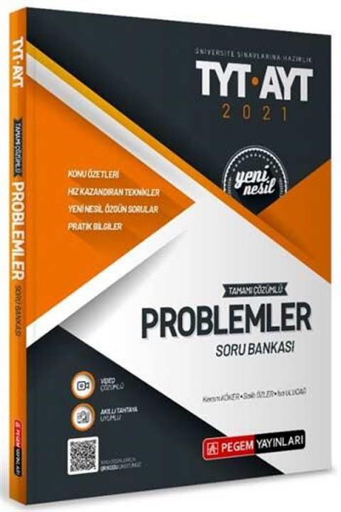 Pegem Yayınları TYT AYT Problemler Tamamı Çözümlü Soru Bankası