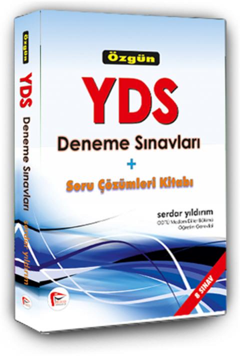 Pelikan Yayınları Özgün YDS Deneme Sınavları + Soru Çözümleri Kitabı