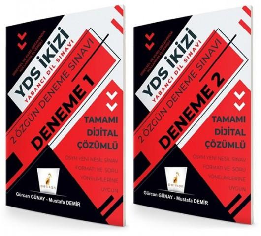 Pelikan Yayınları YDS İkizi 2 Özgün Deneme Sınavı Dijital Çözümlü