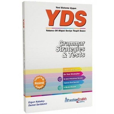 Prestige English Yayınları YDS Grammar Strategies Tests