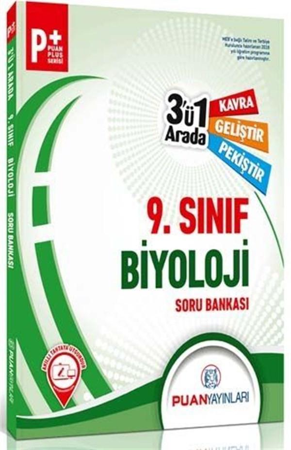 Puan Yayınları 9. Sınıf Biyoloji 3 ü 1 Arada Soru Bankası