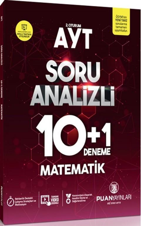 Puan Yayınları AYT Matematik Soru Analizli 10+1 Deneme