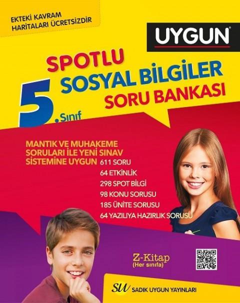 Sadık Uygun Yayınları 5. Sınıf Sosyal Bilgiler Spotlu Soru Bankası