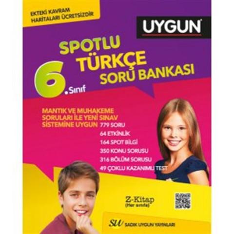 Sadık Uygun Yayınları 6. Sınıf Türkçe Spotlu Soru Bankası