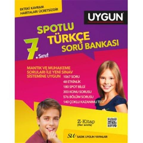Sadık Uygun Yayınları 7. Sınıf Türkçe Soru Bankası